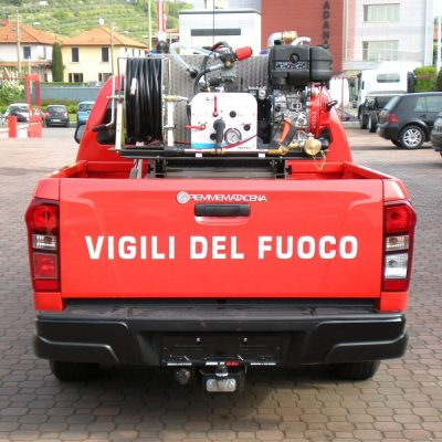pickup con modulo antincendio polifire 400