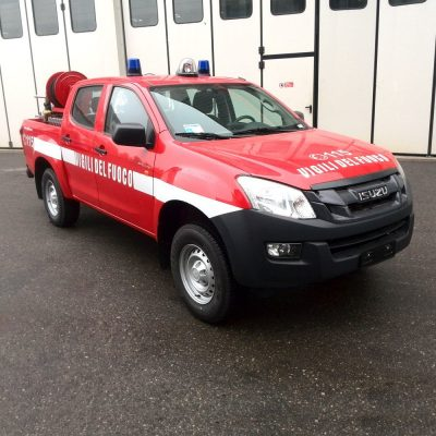 polifire 400 ifex pick-up con modulo antincendio