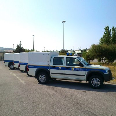 polifire 400 pick up antincendio protezione civile